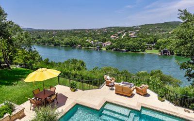 Panoramic Views of Lake Austin from Aqua Verde!